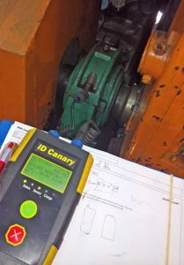 handheld vibration data collection