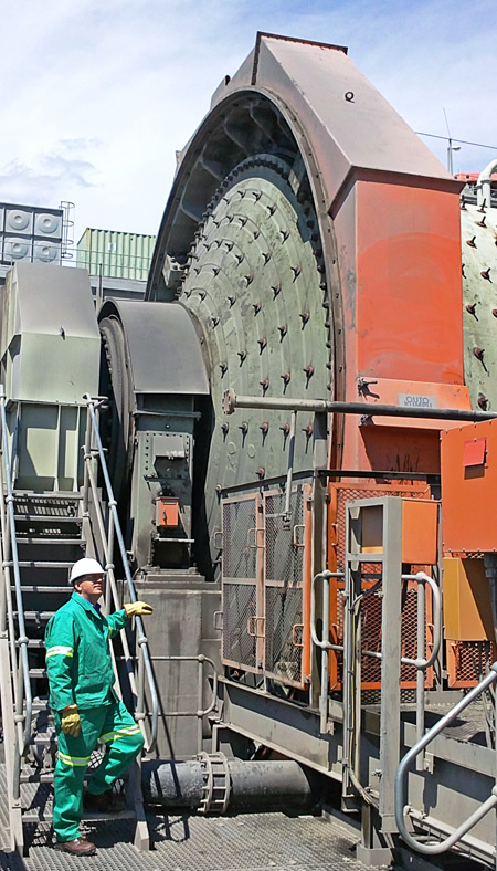 Grinding mill monitoring