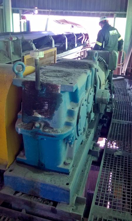 Conveyor monitoring